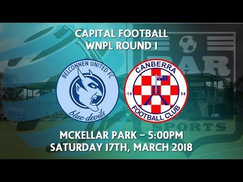 2018 Capital Football Women's NPL Round 1 - Belconnen United v Canberra FC