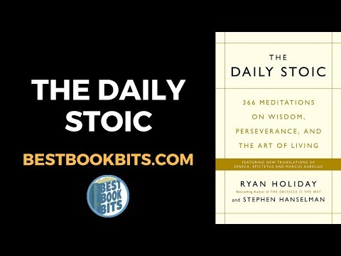 ryan-holiday:-the-daily-stoic-book-summary