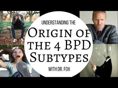 Origins of the 4 BPD Subtypes