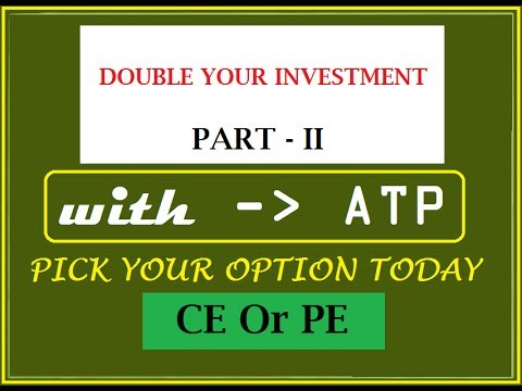 DOUBLE YOUR INVESTMENT WITH ATP, PART 2, POSITIONAL OPTION TRICK