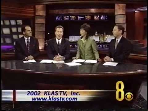 June 3, 2002, Polly Gonzalez & John Gilbert, KLASTV  11 PM cast, Las Vegas