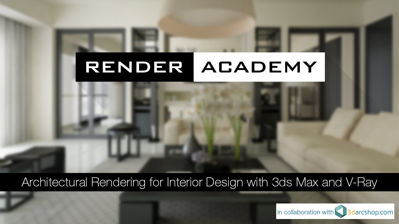 V Ray Antialiasing And Dmc Sampler For Interior Design With 3ds Max Youtube