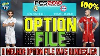 Pes 2018 - O Melhor Option File Com Todas Das Ligas, Logos E Kits Para Ps4 E Pc.