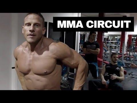 MMA cardio circuit training video UNCUT