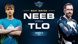 Neeb vs TLO PvZ - Group B - WCS Challenger NA Season 3 - StarCraft II