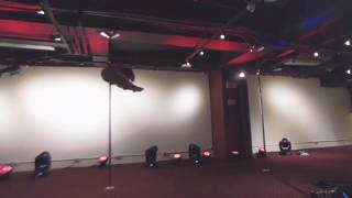 My very first pole dance competition: phantom of the opera