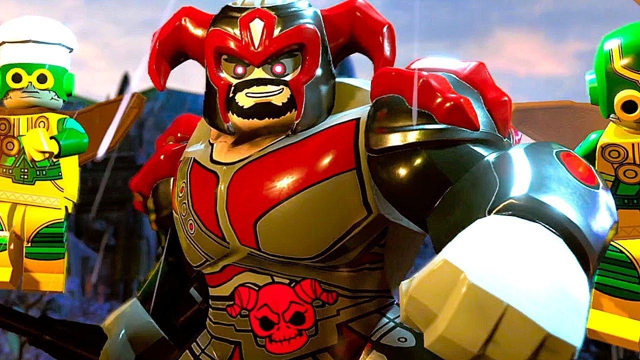 LEGO DC SUPER VILLAINS All Endings (Hero and Villain Ending) Final Boss