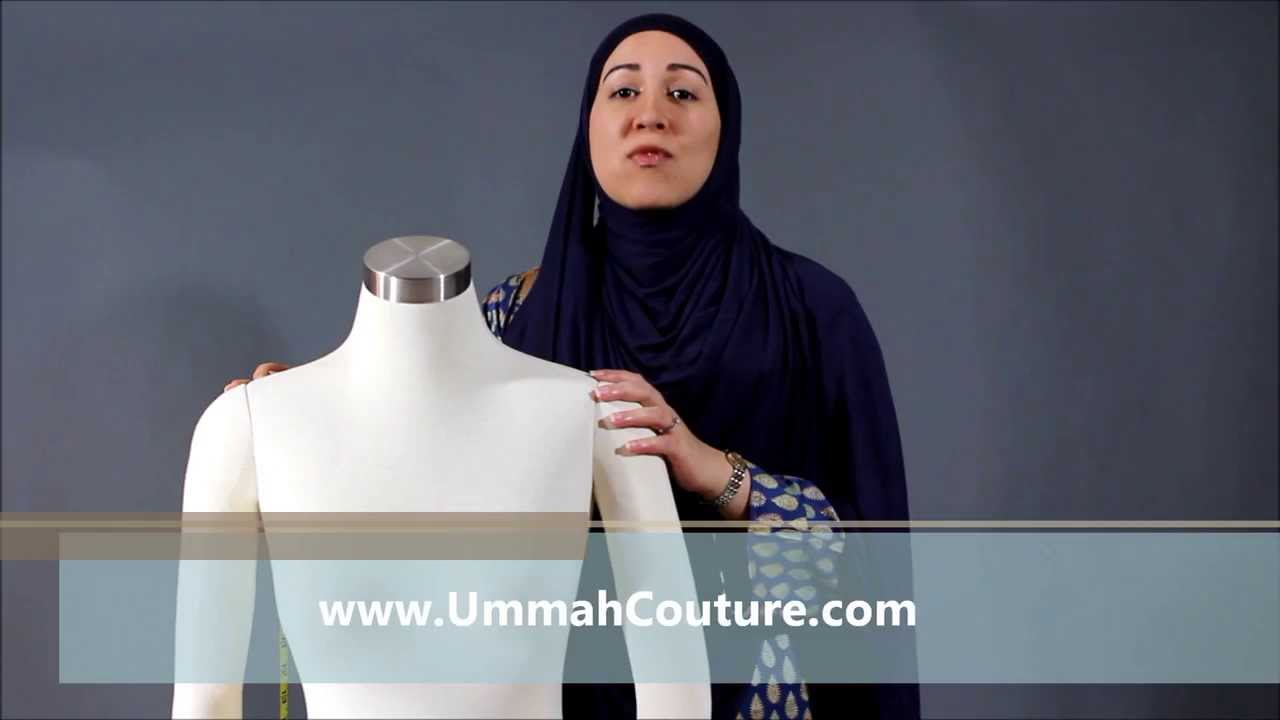 Ummah Couture Hijab Tutorial The Perfect Fit