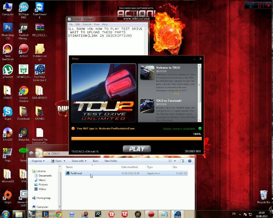 crack tdu2 offline pc