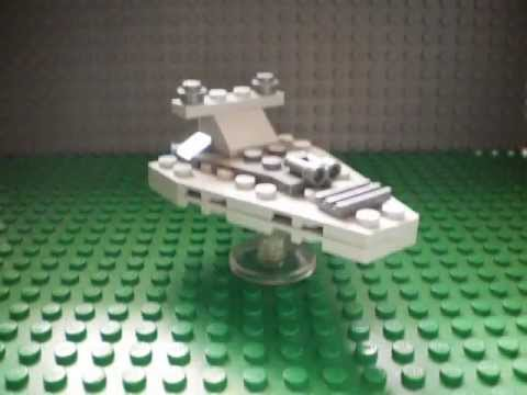 How To Make A Mini LEGO Imperial Star Destroyer - YouTube
