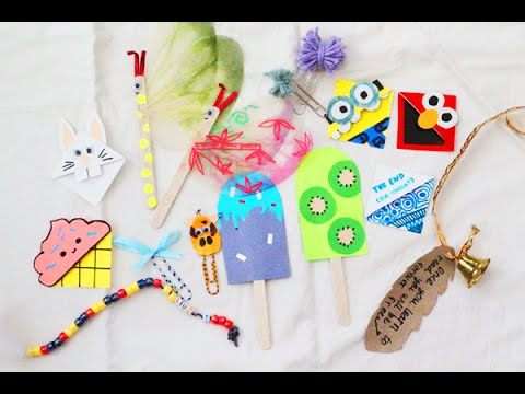 DIY 10+ CREATIVE Bookmark Ideas!! - YouTube