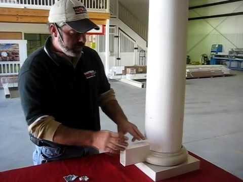 Ask Southern Round Column Adaptors Youtube