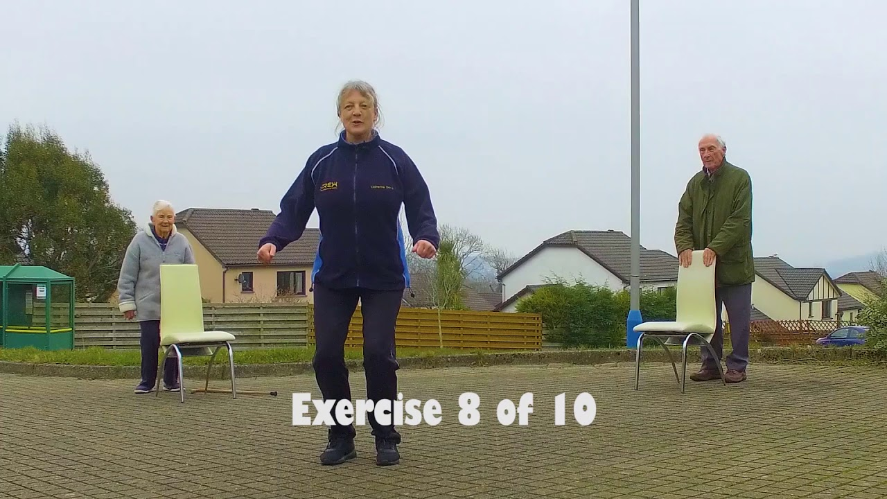 Rex Physio Flash Mob - Isolation exercises for our older people