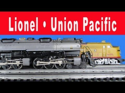 Lionel Union Pacific Tourist Train & Operating Session 1