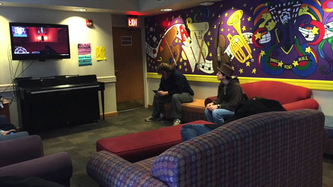 Otterbein University: Dunlap King Hall Tour   YouTube Part 84