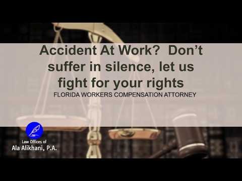 Accidents At Work | Workers Compensation Lawyer | Boca Raton