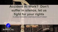 Accidents At Work   Workers Compensation Lawyer   Boca Raton