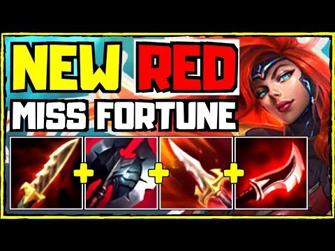 *NEW* Red Build Miss Fortune | League Of Legends (Season 10)