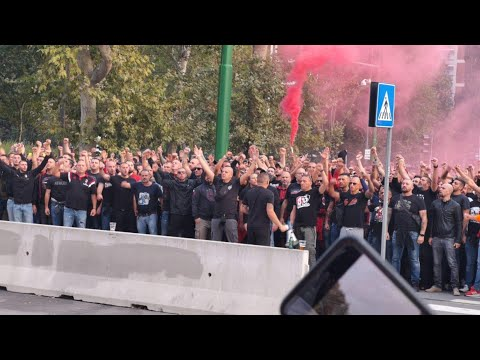 Il derby della Curva Sud Milano