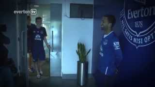 Behind-The-Scenes: Aaron Lennon's First Day