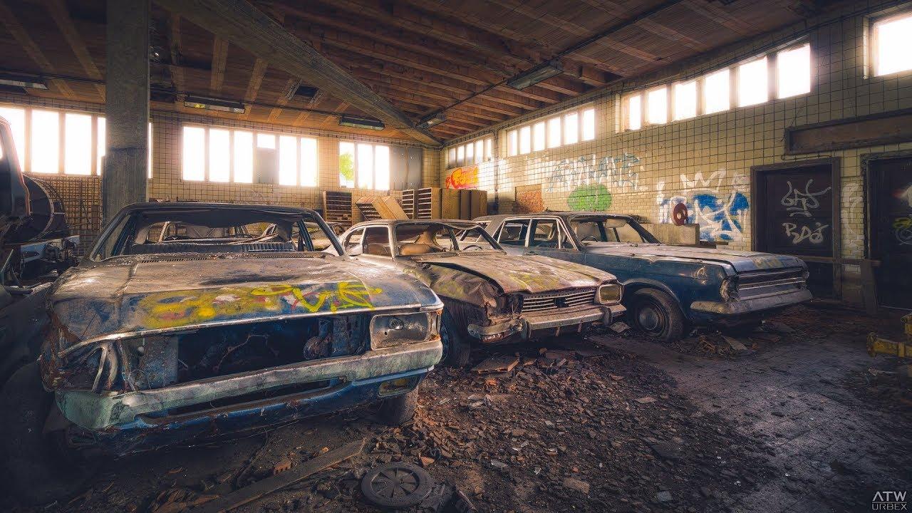 Abandoned Vehicles Of The Fox S Coal Mining Urbex
