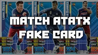 Video How to make Match Attax Fake 2015/16 download MP3, 3GP, MP4, WEBM, AVI, FLV April 2018
