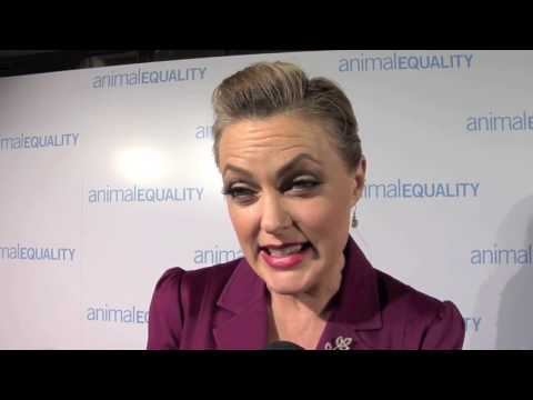 Elaine Hendrix, Animal Equality 10th Anniversary Celebration