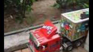 RC Truck M&M Semi-Trailer (M&M-入倉泊位片段)