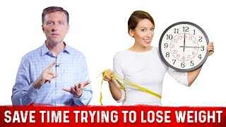 """How to """"SAVE TIME"""" when trying to Lose Weight?"""