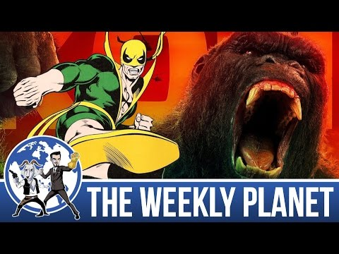 Kong Skull Island Spoiler Review & IRON FIIIST! - The Weekly Planet Podcast