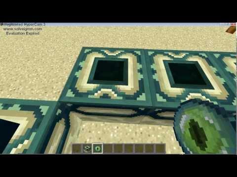 Minecraft cara membuat Ender Portal (Indonesia)