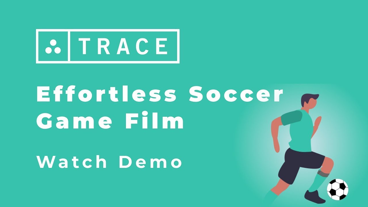 Trace Soccer Online Demo - Game Video - Performance Metrics - Trace iD - 2021