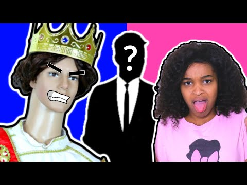 Thumbnail: Bad Baby Mannequin ATTACKS Part 2 - Disney Cinderella Love Story - Shasha and Shiloh - Onyx Kids