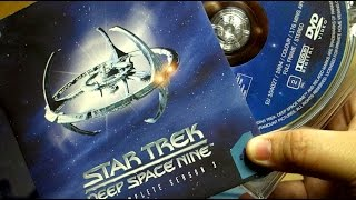 Star Trek Deep Space Nine Season 3 DVD Boxset Open Box