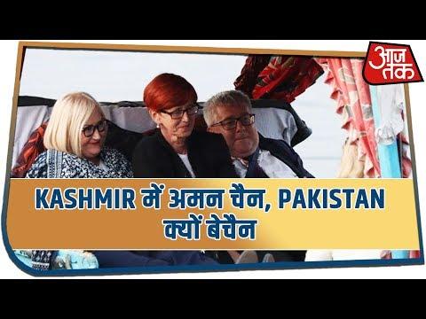 Kashmir में अमन चैन, Pakistan क्यों बेचैन | देखिये Desh Tak With Sayeed Ansari
