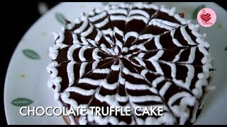 How To Make Chocolate Truffle Cake By Archana || #bemyvalentine