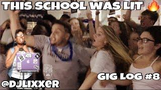 ALL NIGHT GRADUATION PARTY W/ DJ EIGHTY8! | Female DJ Gig Log #8 | #LiXxerExperience TV