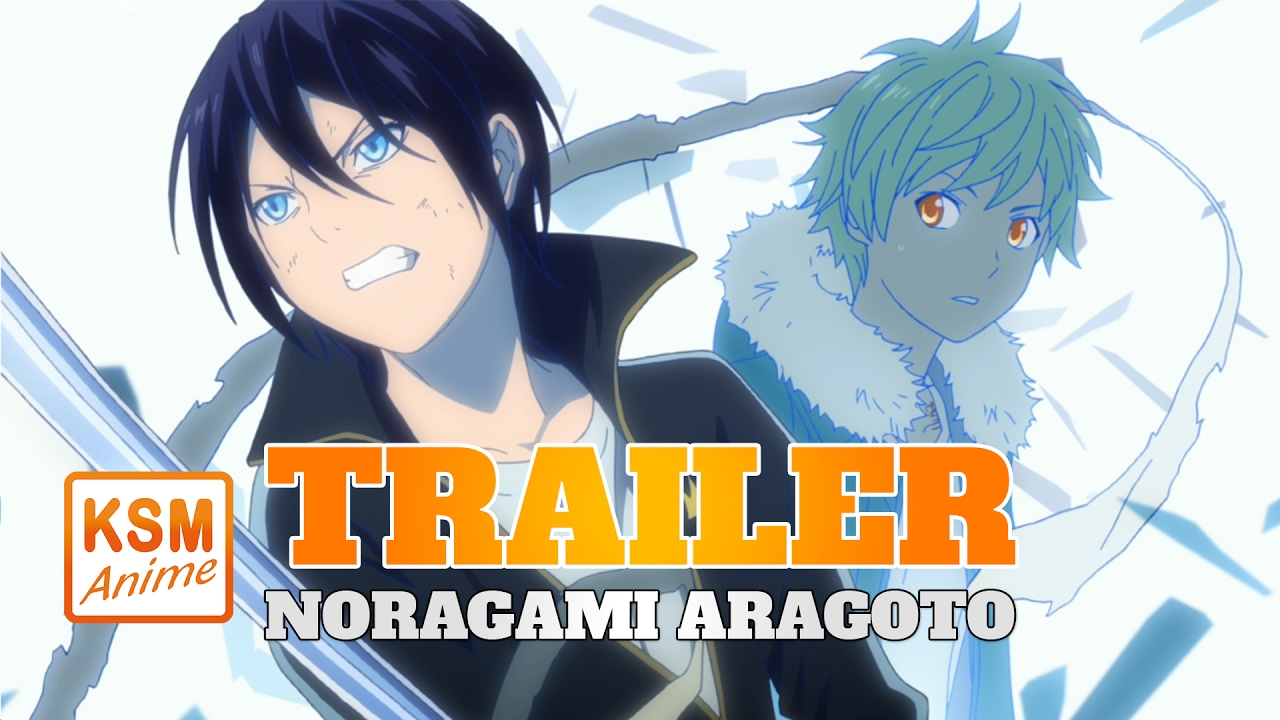 Noragami Aragoto Trailer Youtube