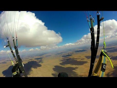 Ozone Buzz Z5 - XC from Torrey Paso with cloudbase!