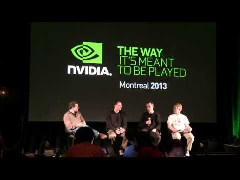 John Carmack, Tim Sweeney and Johan Andersson Panel  - NVIDIA Tech Day 2