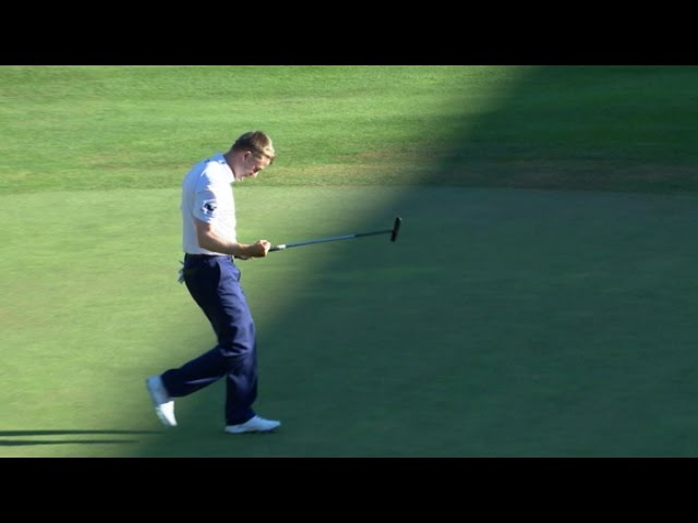 Russell Knox drains clutch putt to win Travelers