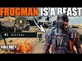Unlocked Character FROGMAN in Black Ops 4 Blackout is a BEAST | My Highest Frag Solo Win