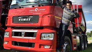 Новый КАМАЗ!) Или когда первый раз на грузовике…) Обзор и тест-драйв KAMAZ