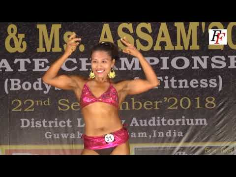 NABBA WFF Mr.  & Ms.  Assam 2018  Women's Bodybuilding