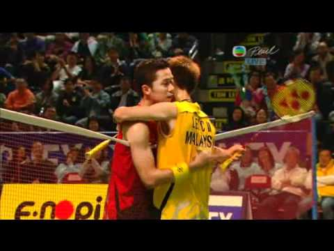 Hong Kong Open Super Series 2010 MS Final Lee Chong Wei vs Taufik Hidayat 4/4