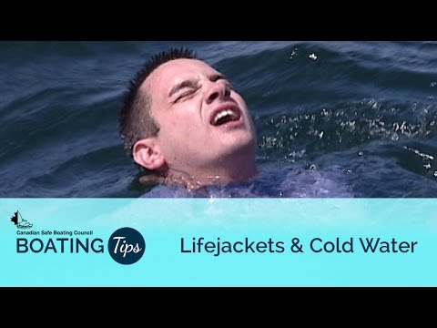 Lifejackets and Cold Water