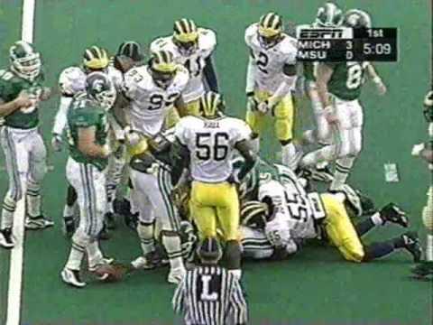 1997: Michigan 23 Michigan State 7 (PART 1)