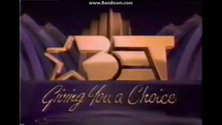 BET Black Entertainment Television Giving you a Choice Bumper (1989-1992)