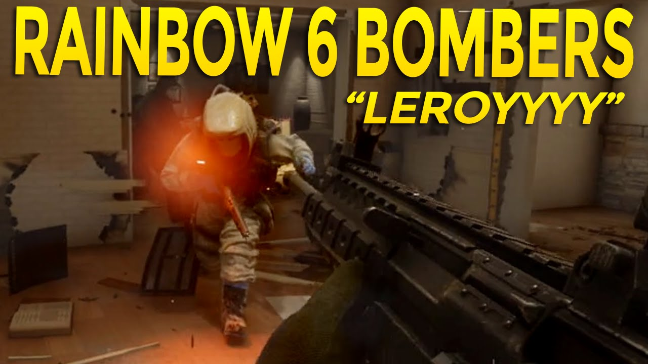 Rainbow 6 siege bomber funny moments in terrorist hunt - Rainbow six siege disable bomber ...