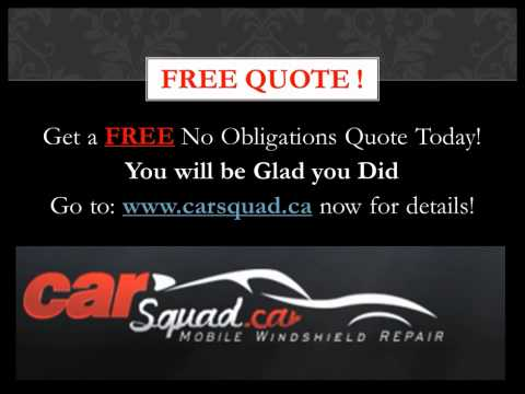 Calgary Windshield Replacement - Carsquad.ca